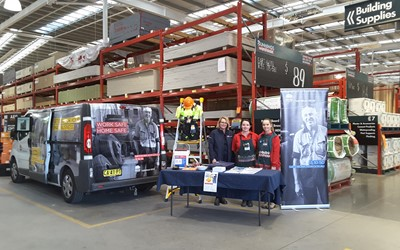 Bunnings' support for SafeWork NSW TradieSafe Program
