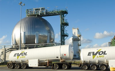 Australian first as EVOL LNG carries out LNG refuelling